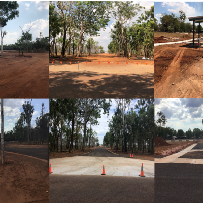 Batchelor Airstrip & Construction of Carpark Stage 1 Project Aug 2018